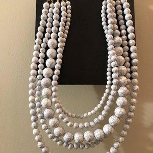 Lane Bryant 5 strand necklace
